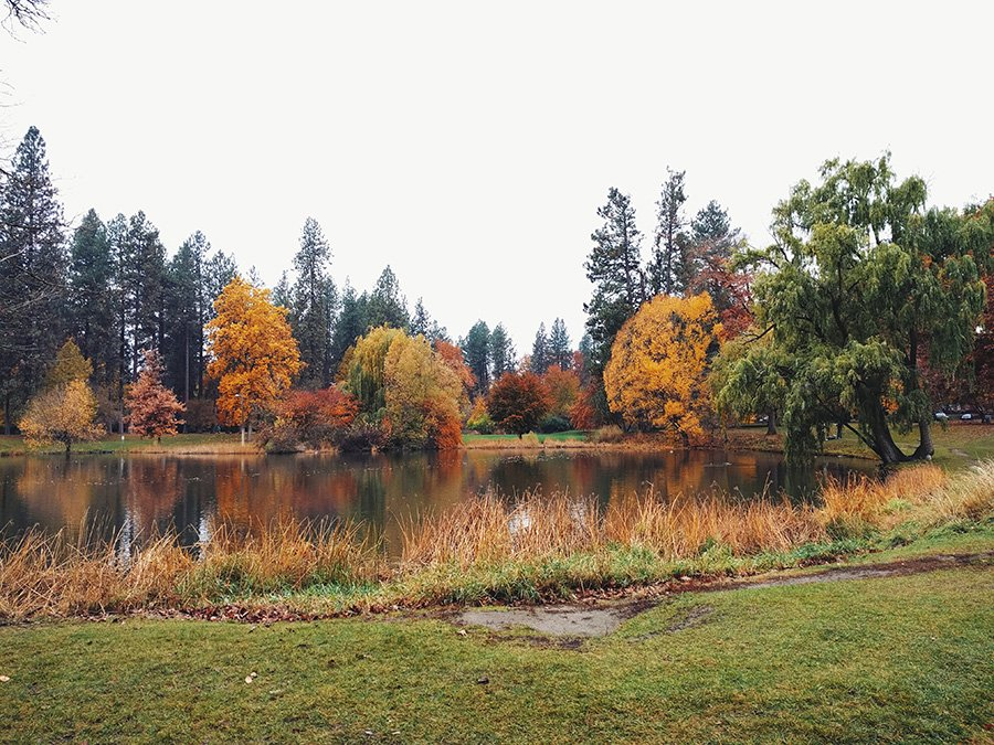 Fall Family Sessions Cannon Hill Park // Spokane Family Photography