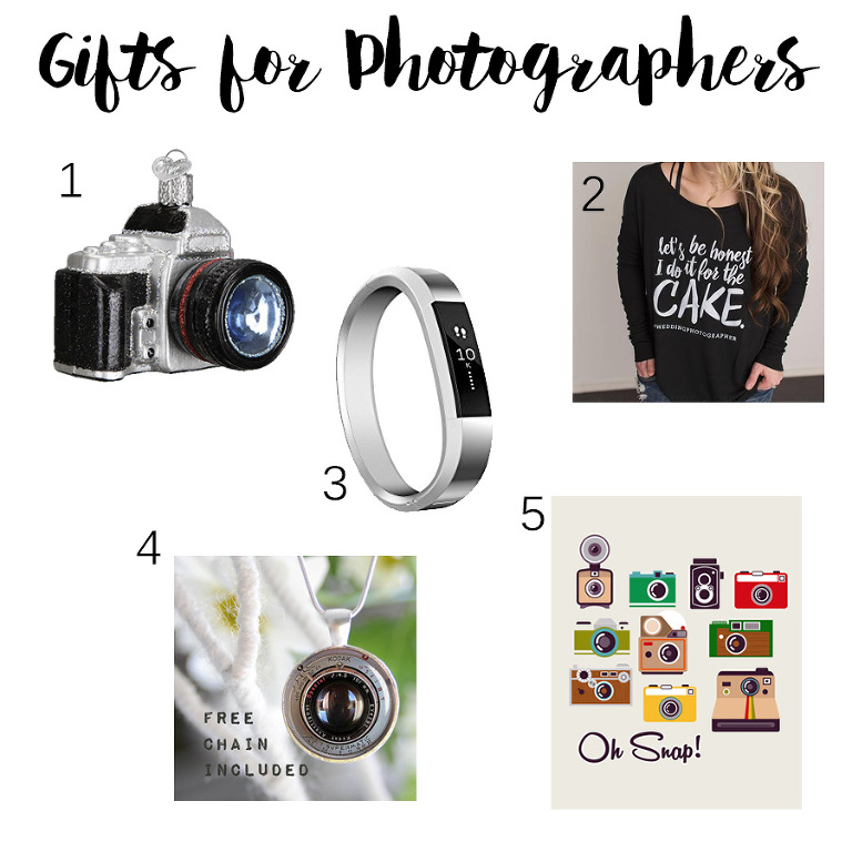 Gifts for Wedding and Portrait Photographers // 2016 Christmas Gift Guide