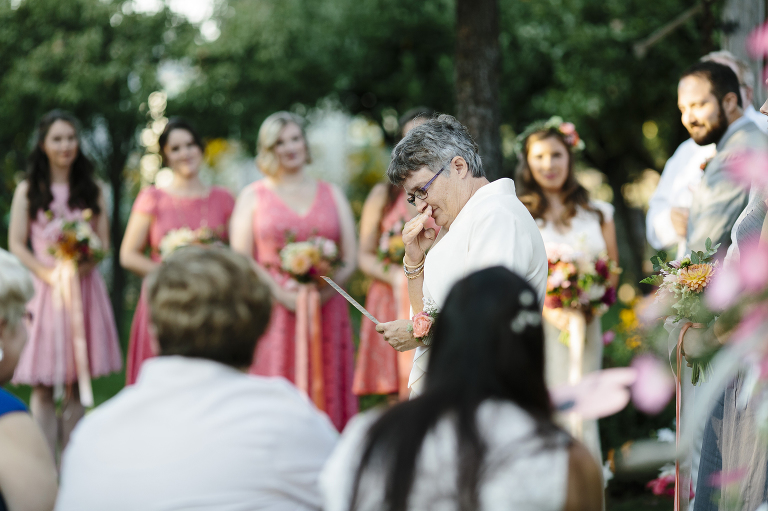 North Idaho Garden Party Wedding Ceremony // Emily Wenzel Photography