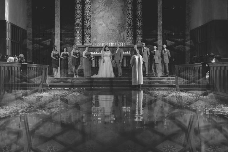 Catholic Church Wedding Seattle // Emily Wenzel Photography