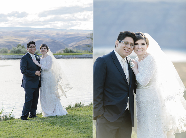 Interracial Couple at Cave B Winery Wedding // Emily Wenzel Photography