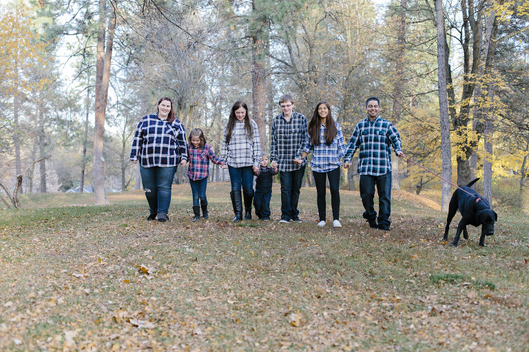 Spokane Engagement Session with Kids // Emily Wenzel Photography