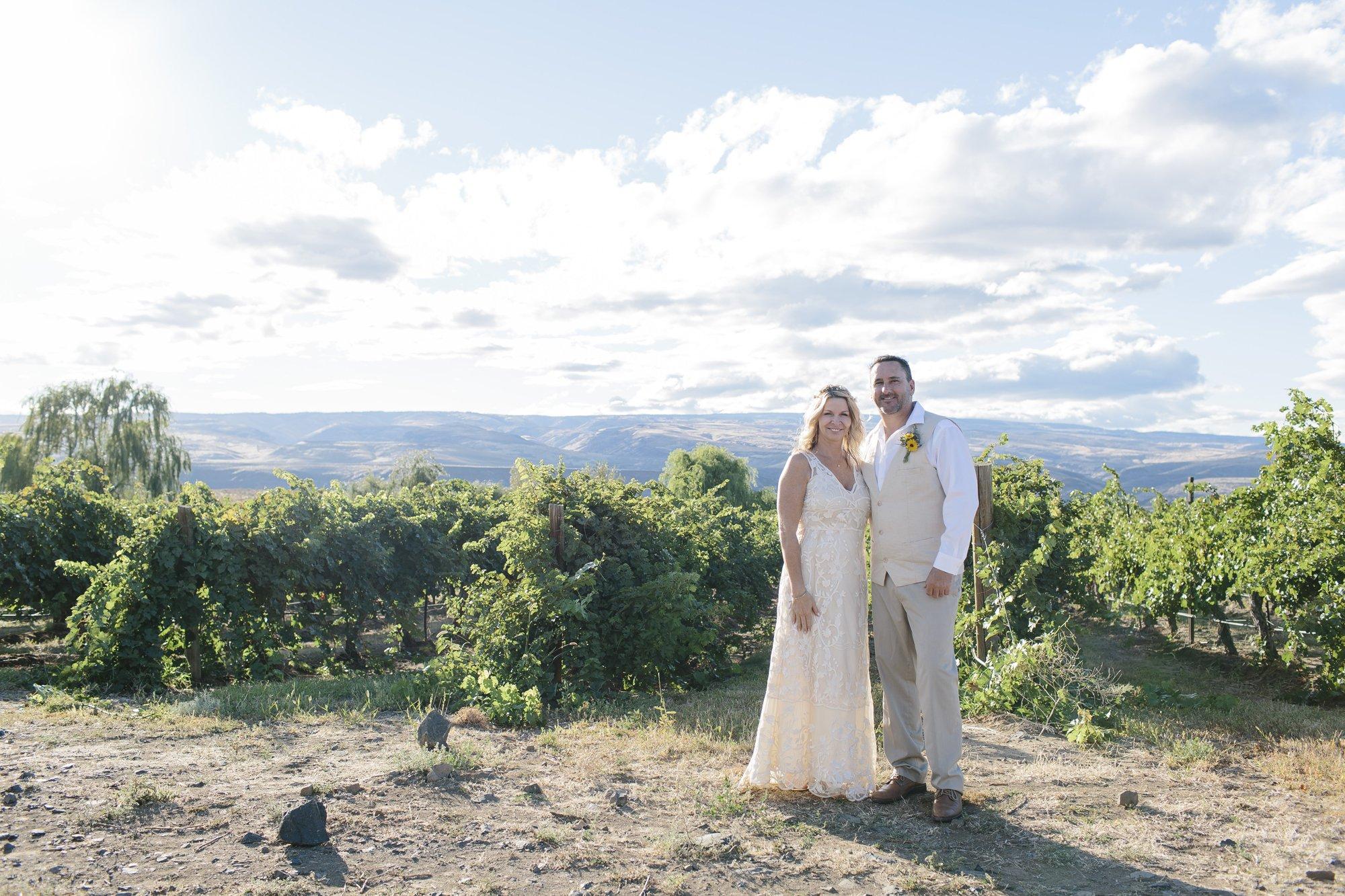 Leslie & Drew's Cave B Winery Elopement