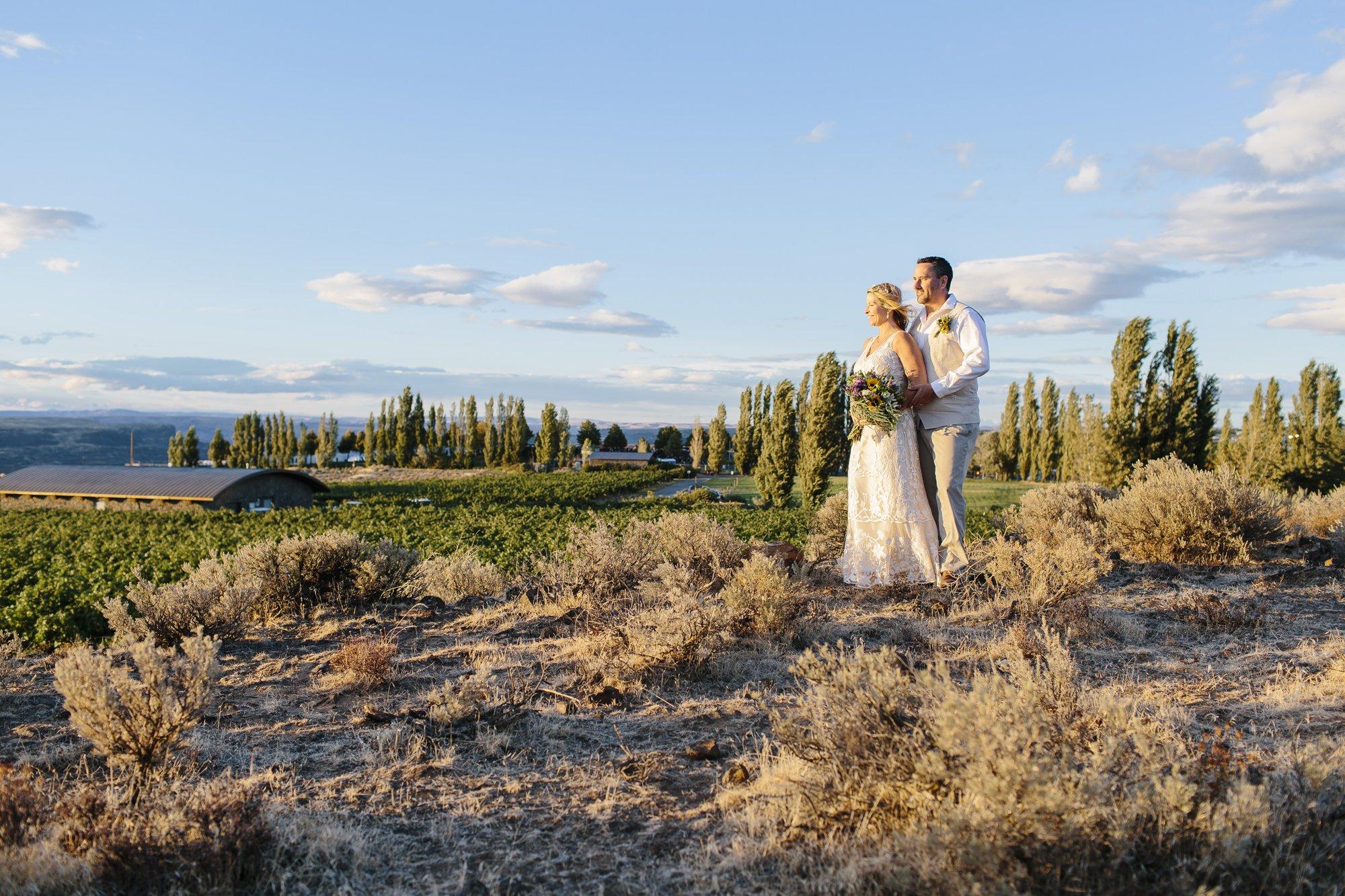 Eastern Washington Elopement Photographer // Emily Wenzel Photography