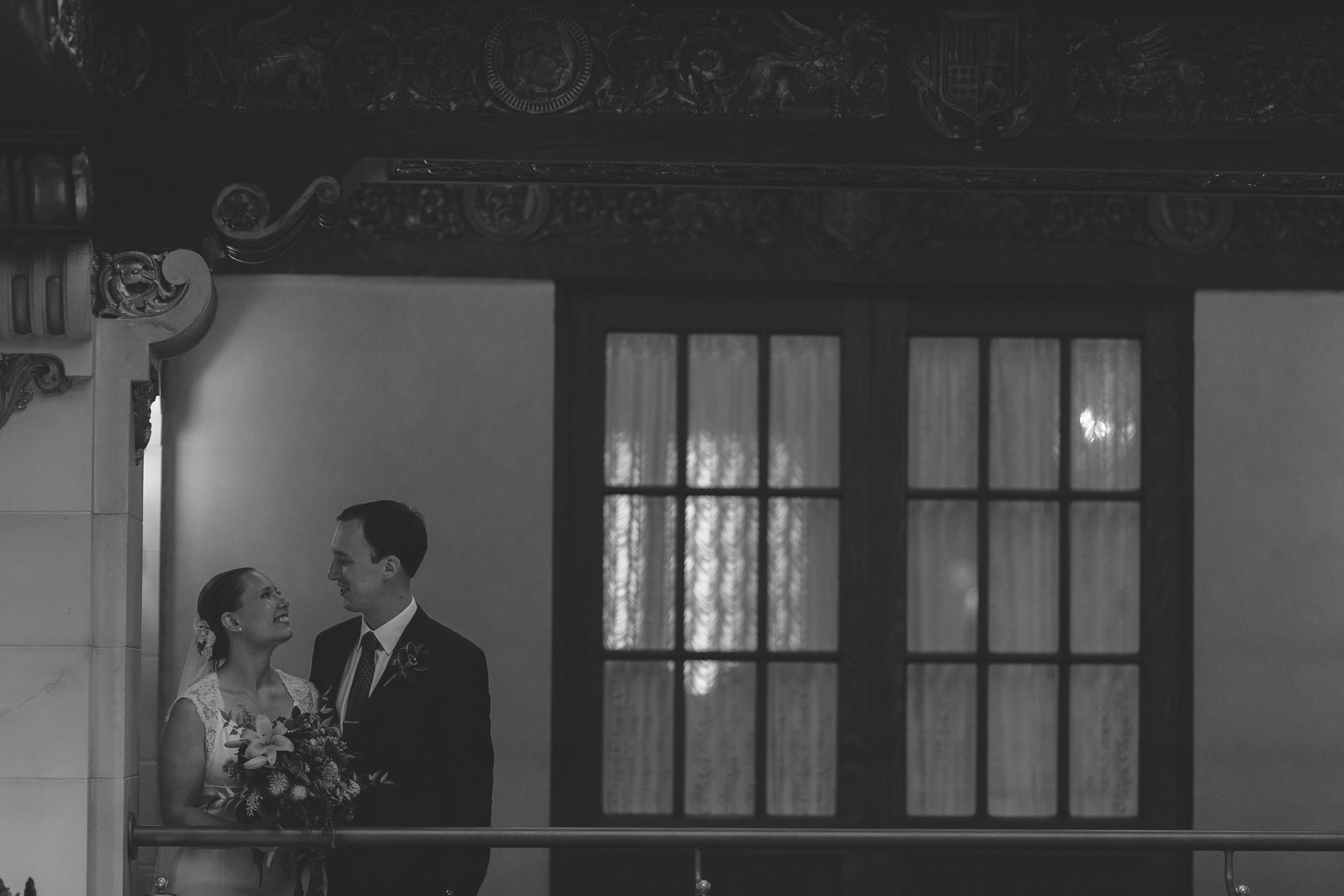 Historic Davenport Hotel Wedding // Emily Wenzel Photography