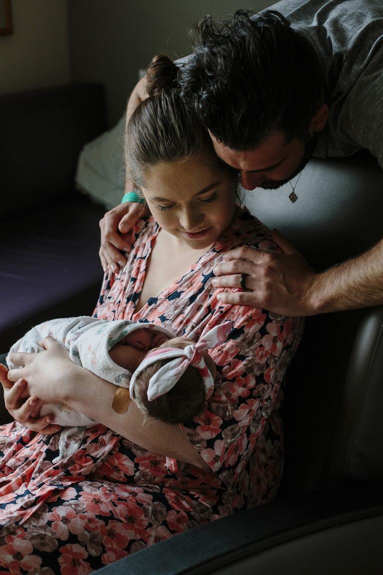 Spokane Newborn Fresh 48 Session // Emily Wenzel Photography