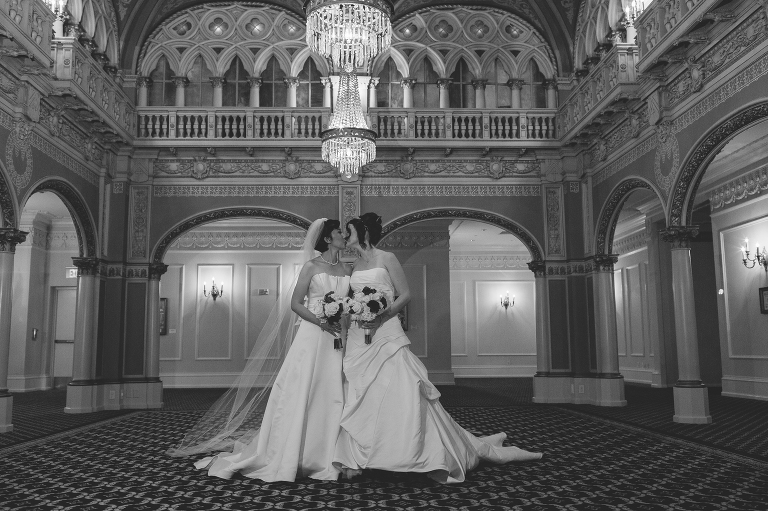 Davenport Hotel Same Sex Wedding // Emily Wenzel Photography