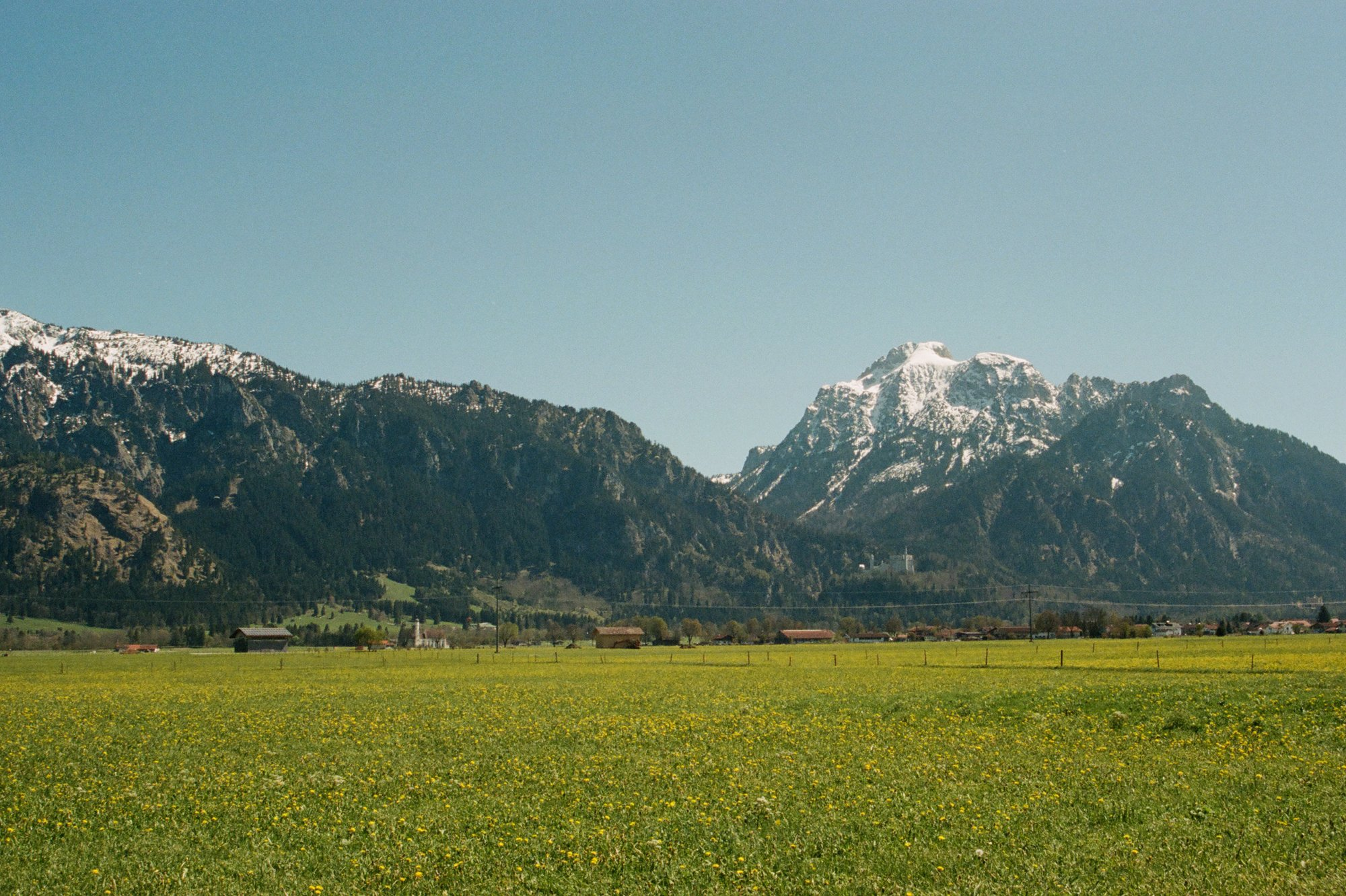 Schwangau Bavaria on Film // Emily Wenzel Photography