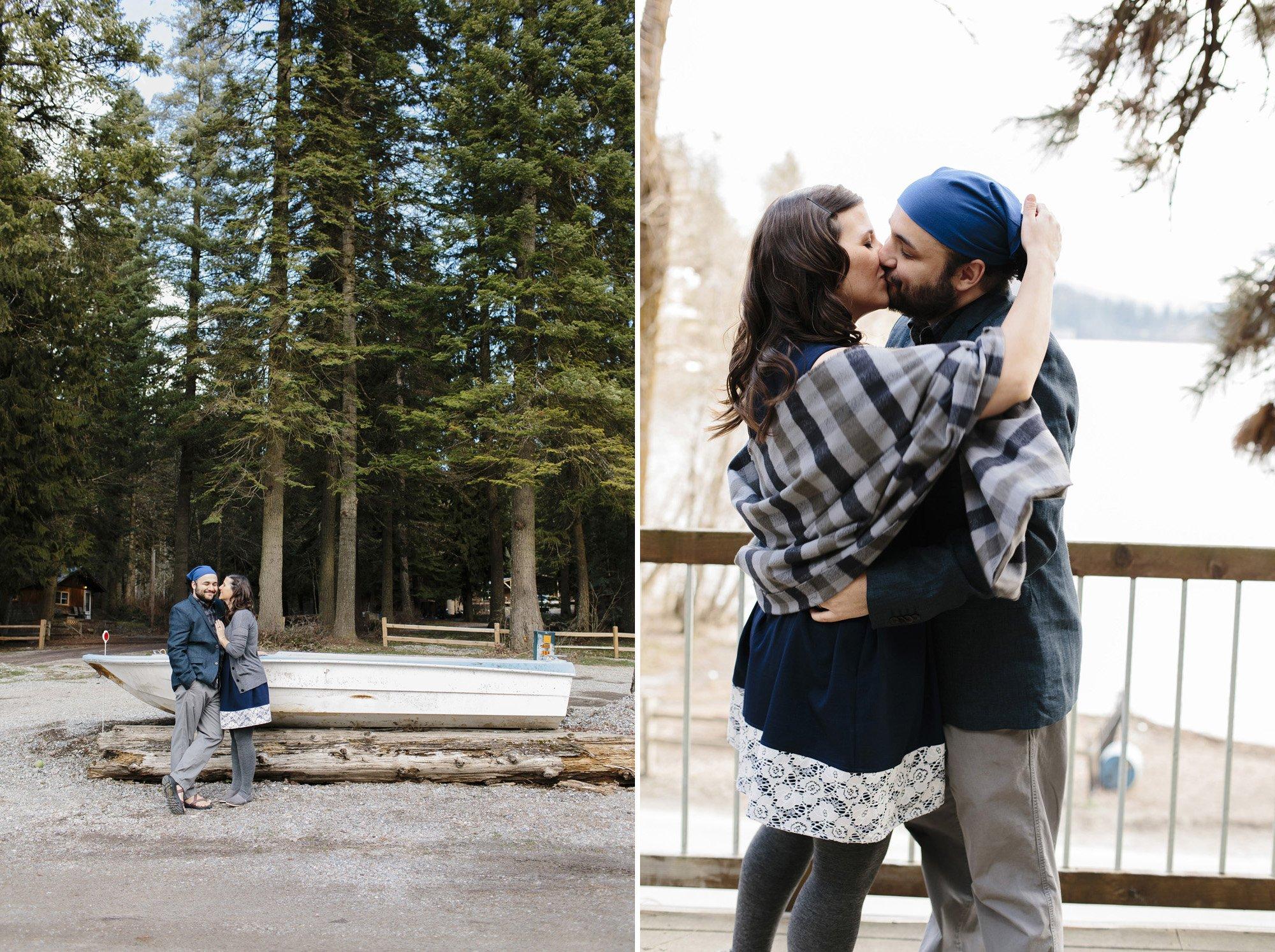 Coeur d'Alene Lake Wedding // Emily Wenzel Photography