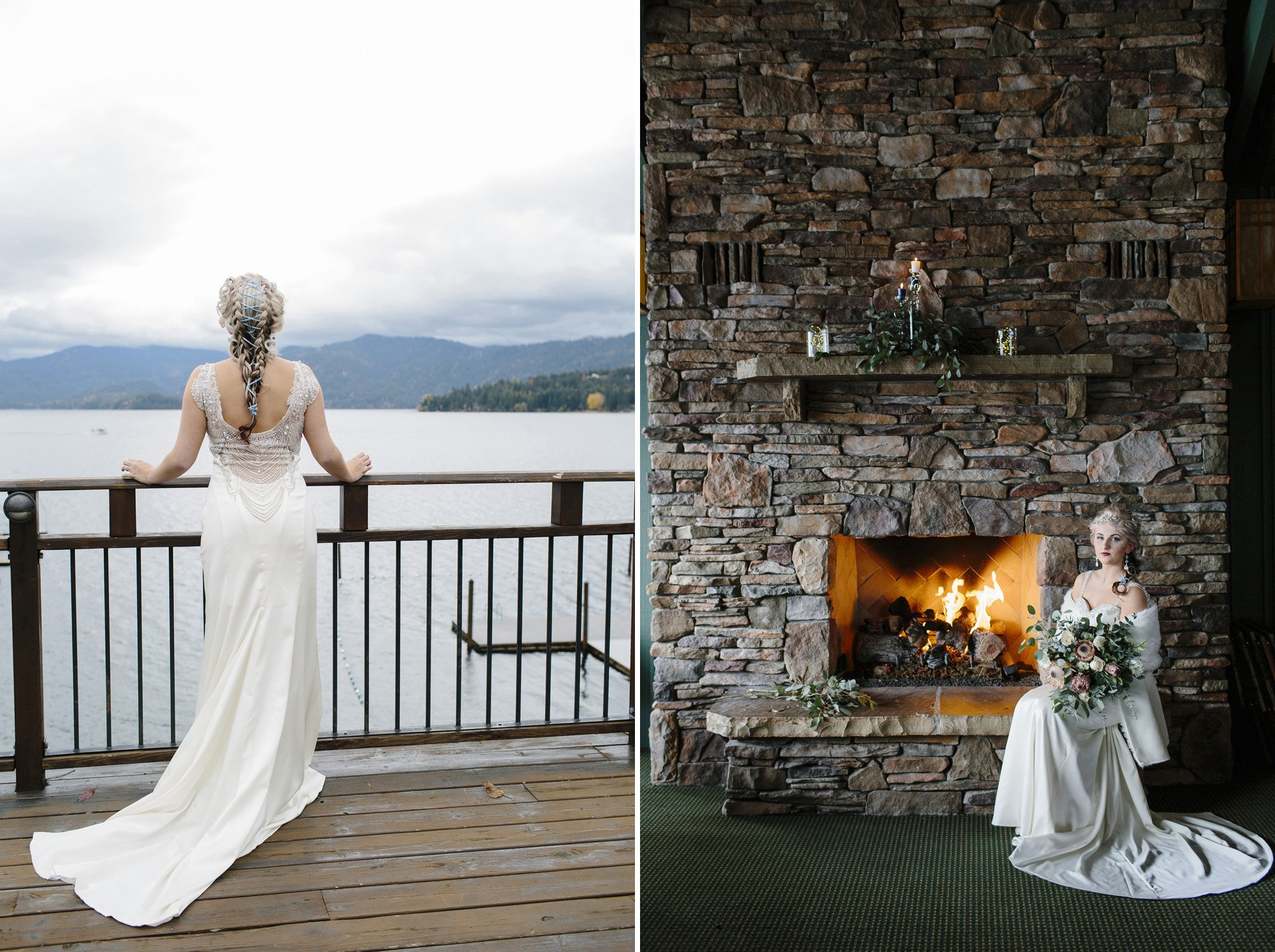 Hayden Lake Country Club Wedding // Emily Wenzel Photography