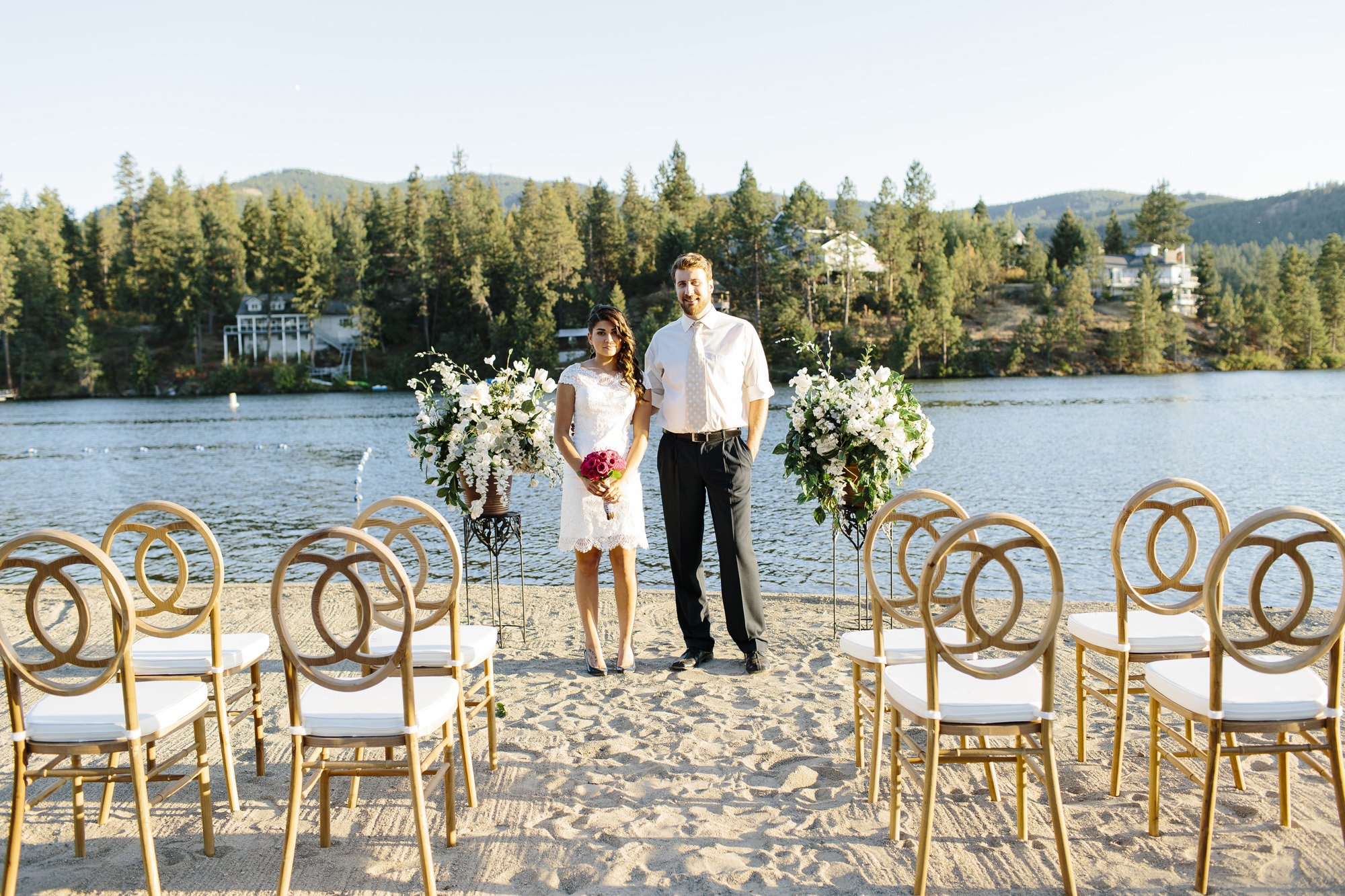 Post Falls Wedding // Emily Wenzel Photography