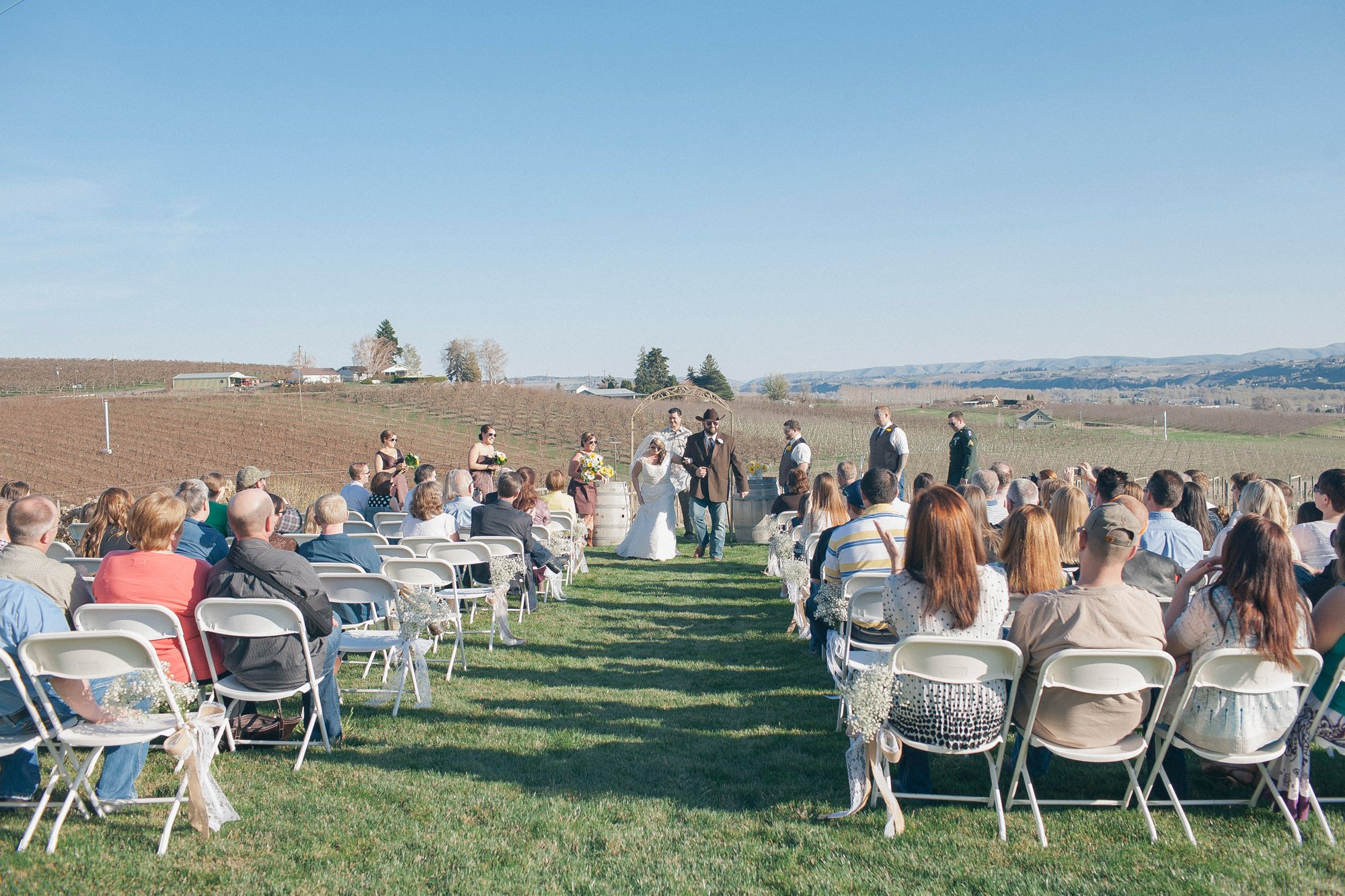 Yakima Valley Winery Wedding Venue