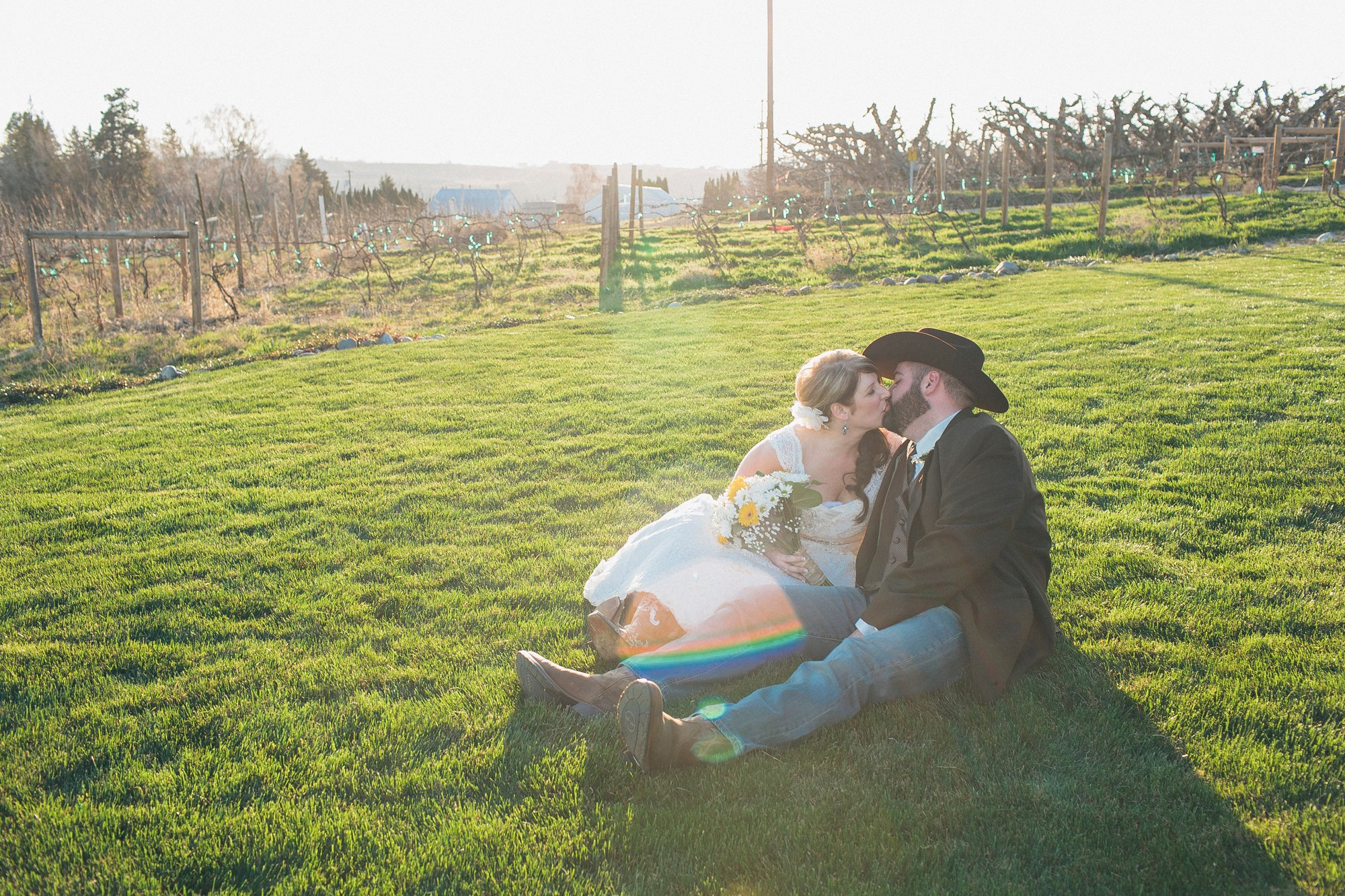 Yakima valley Country Wedding
