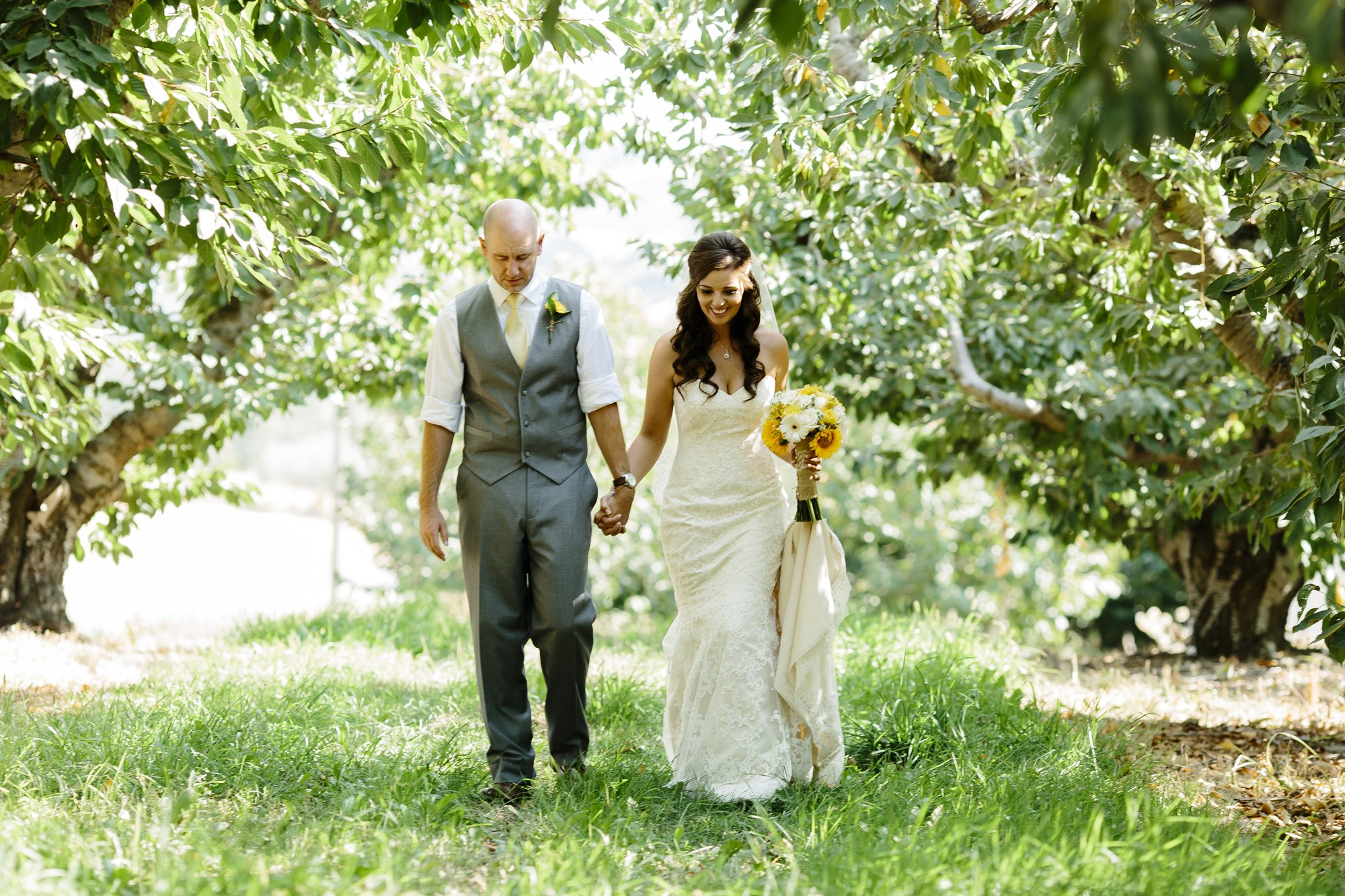 Yakima Valley Wedding Couple