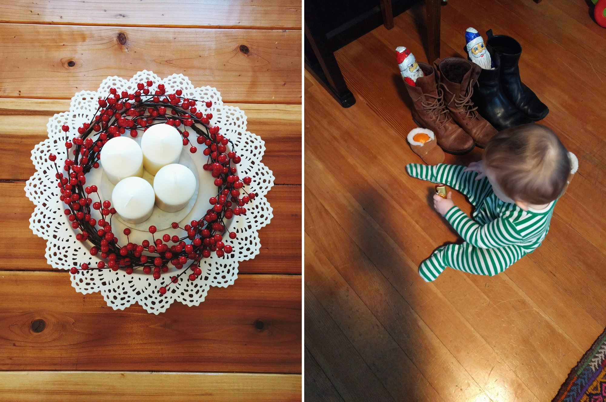 St Nickolas Day in the US // Modern Advent Wreath