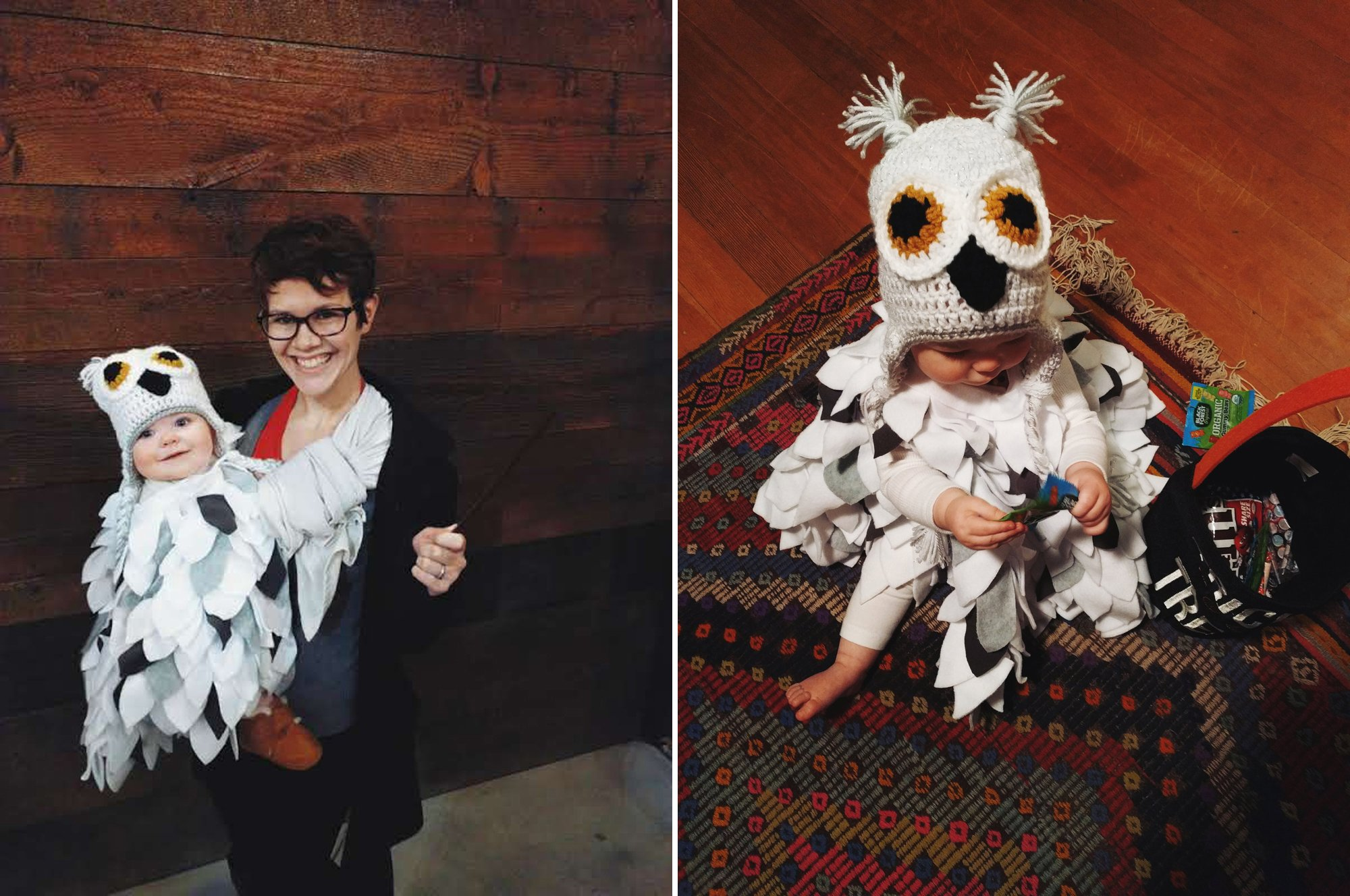 Hedwig the Snow Owl Halloween Costume