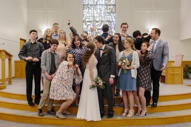 Spokane Church Wedding // Emily Wenzel Photography