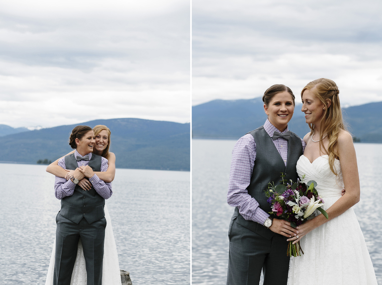 Priest Lake Wedding // Emily Wenzel Photography