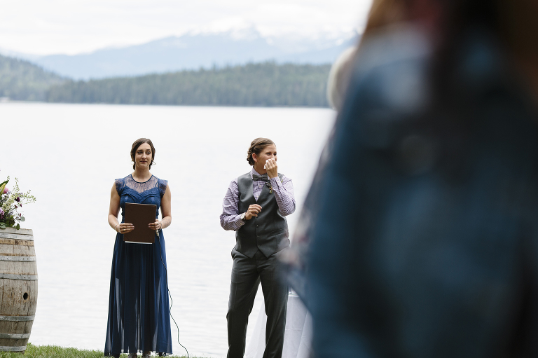 Priest Lake Wedding // Emily Wenzel Photography