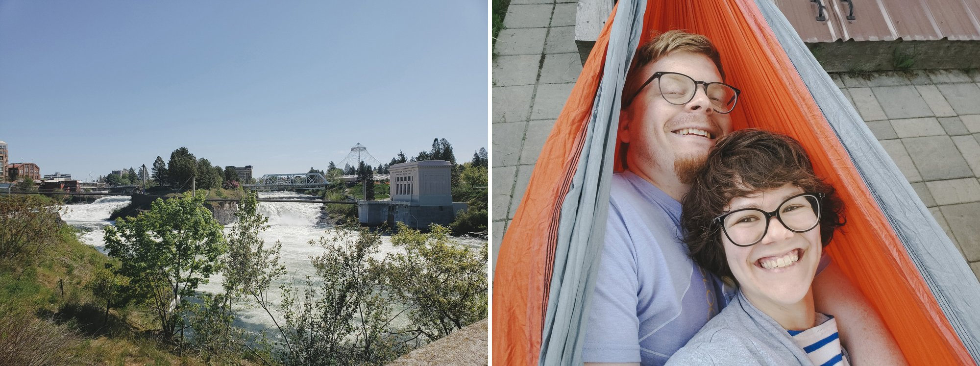 Hammock Stands and Spring Adventures // Spokane with Kids