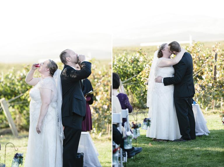 Badger Mountain Winery Wedding Kennewick // Emily Wenzel Photography