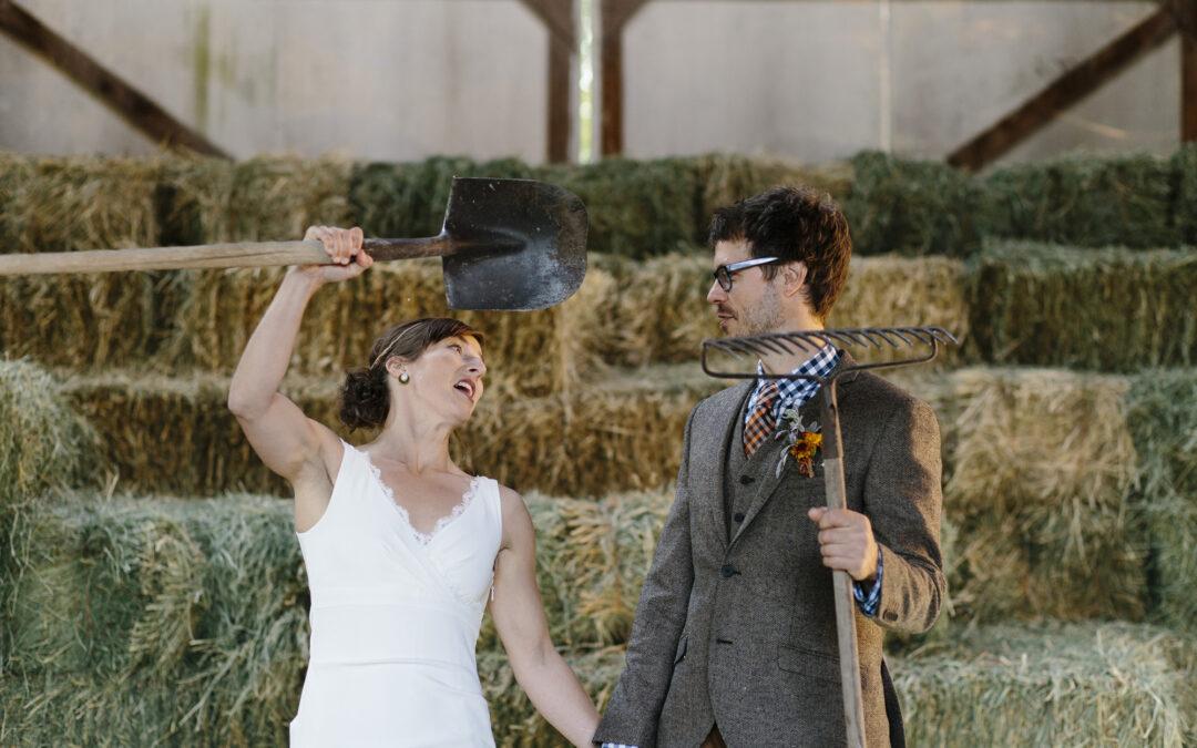 Heather + Craig – Mountain Top Methow Valley Wedding // Winthrop Wedding Photographer