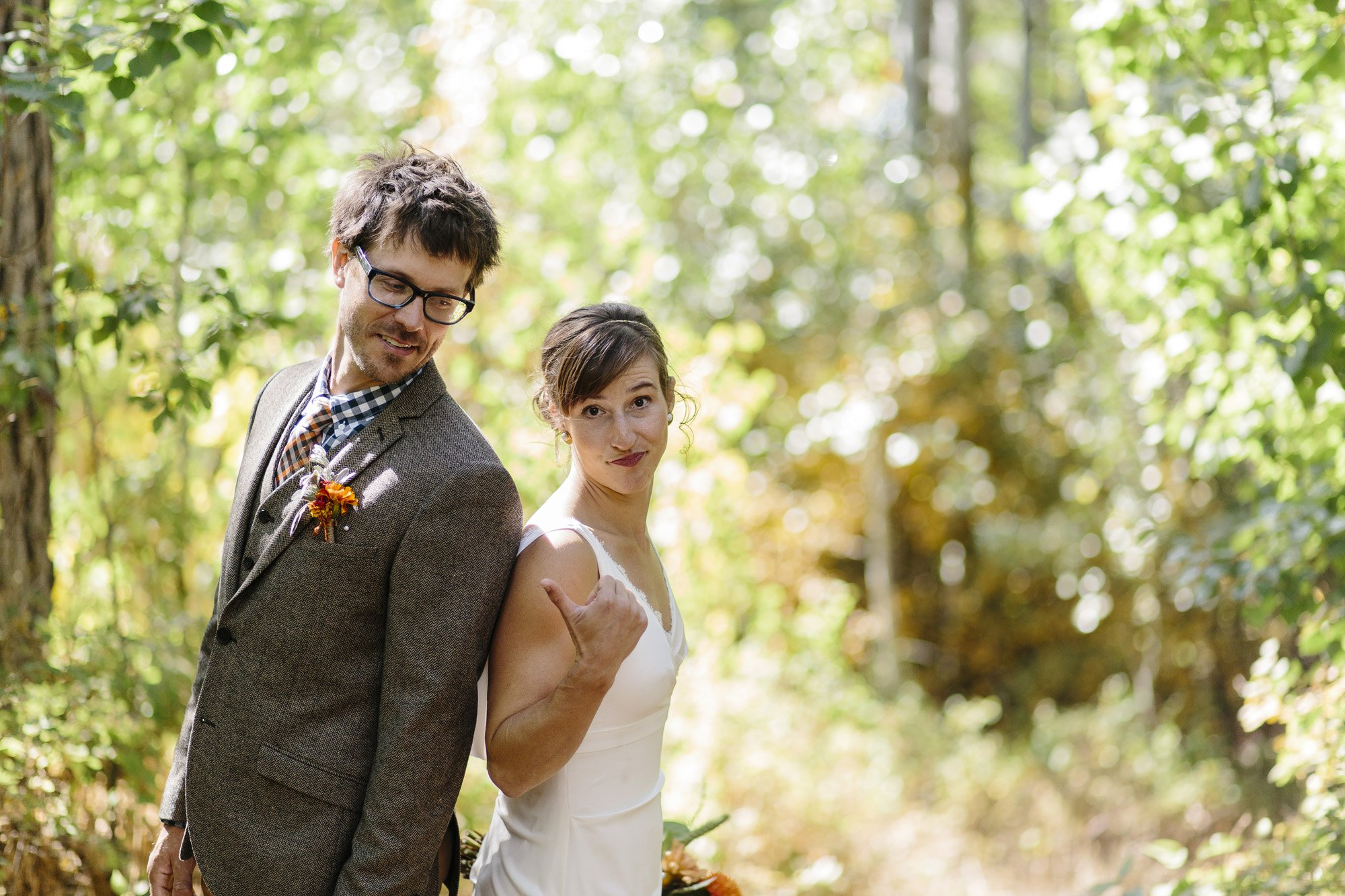Wedding Portraits with Personality