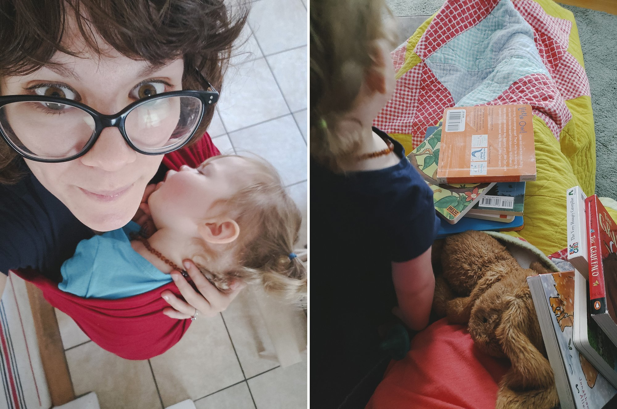 Working from home with a toddler