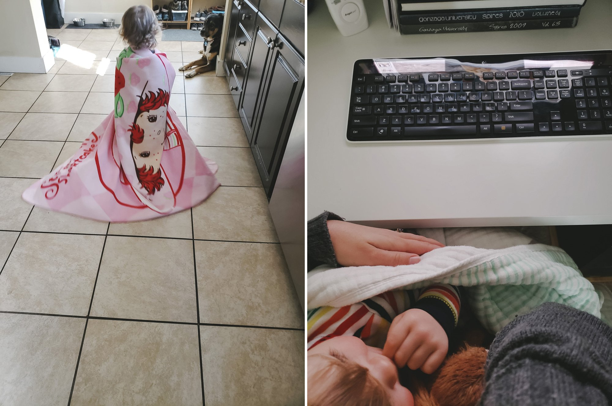 Working from Home with a Toddler in your lap