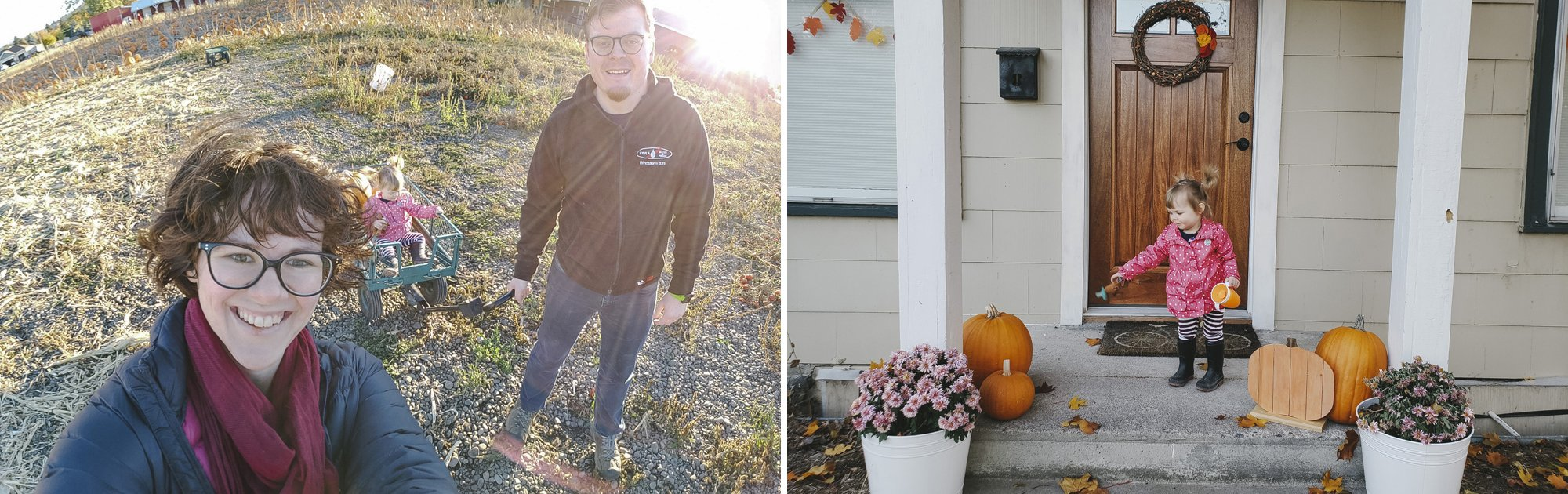 Pumpkin Picking in Spokane