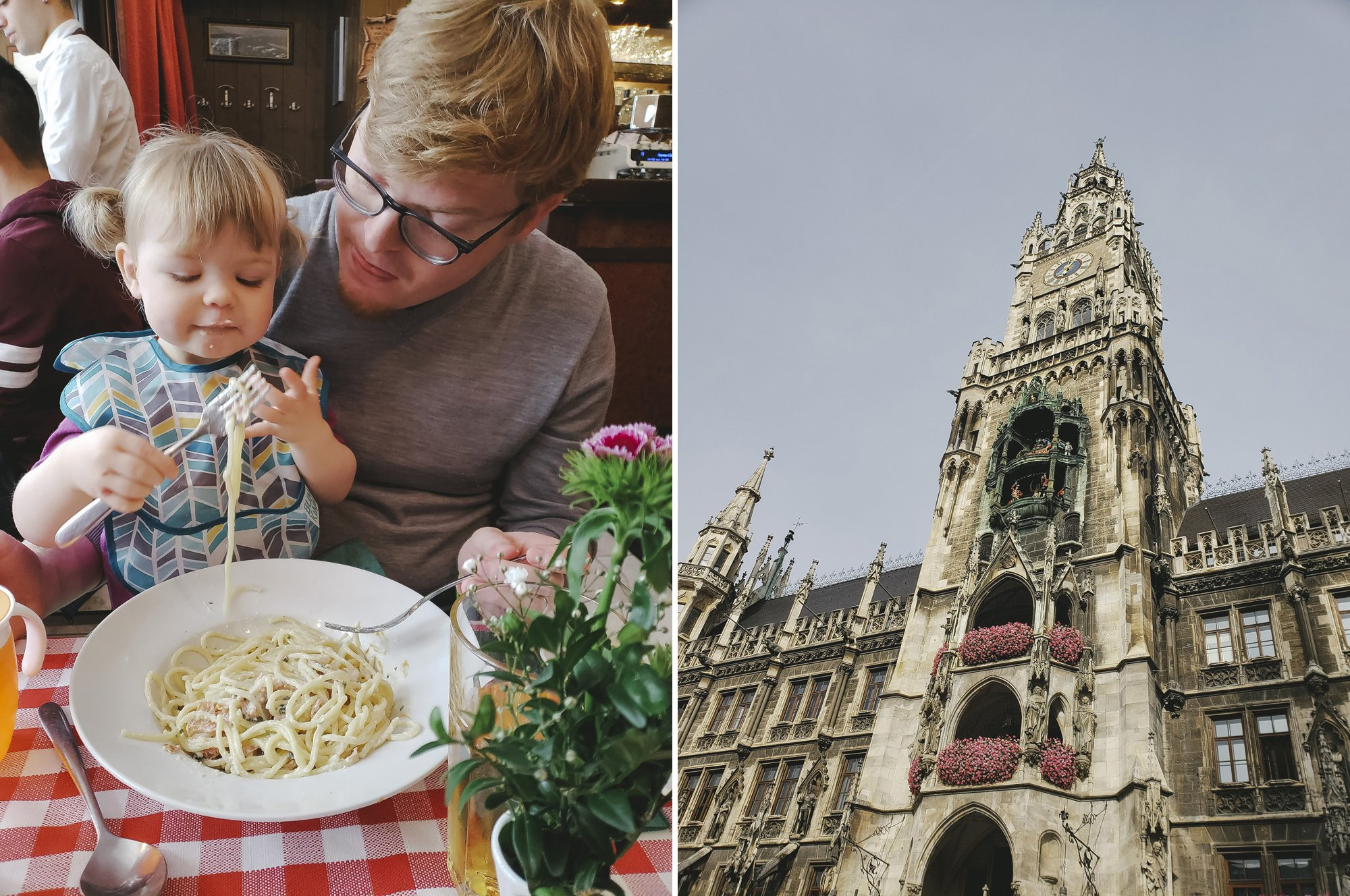 Eating with a toddler in Munich