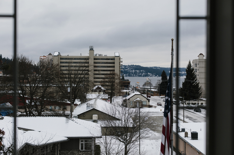 Roosevelt Inn Winter Elopement in Coeur d'Alene Idaho