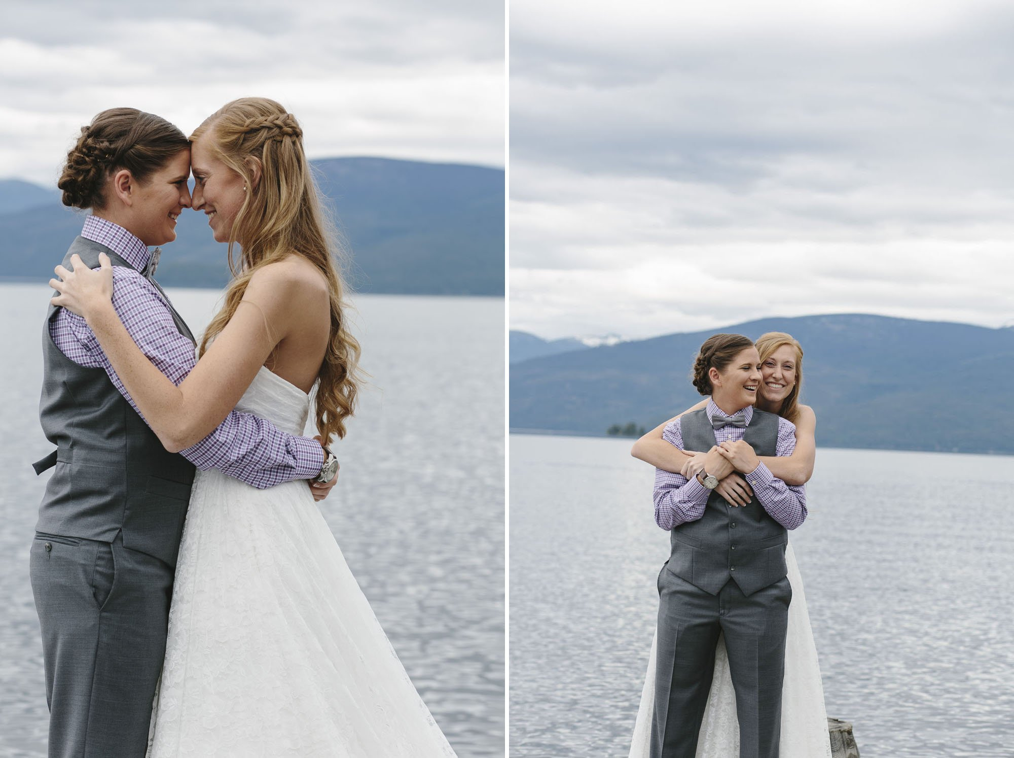 LGBT Wedding Photographer Idaho // Emily Wenzel Photography
