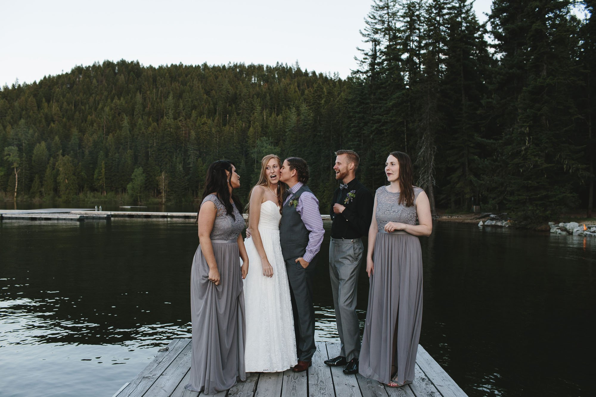 North Idaho Wedding Photographer // Emily Wenzel Photography