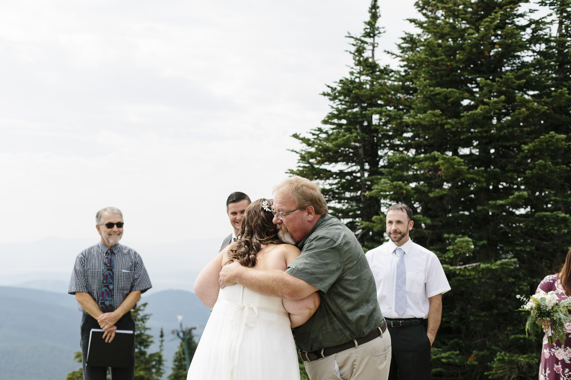Mt Spokane Elopement Small Wedding // Emily Wenzel Photography
