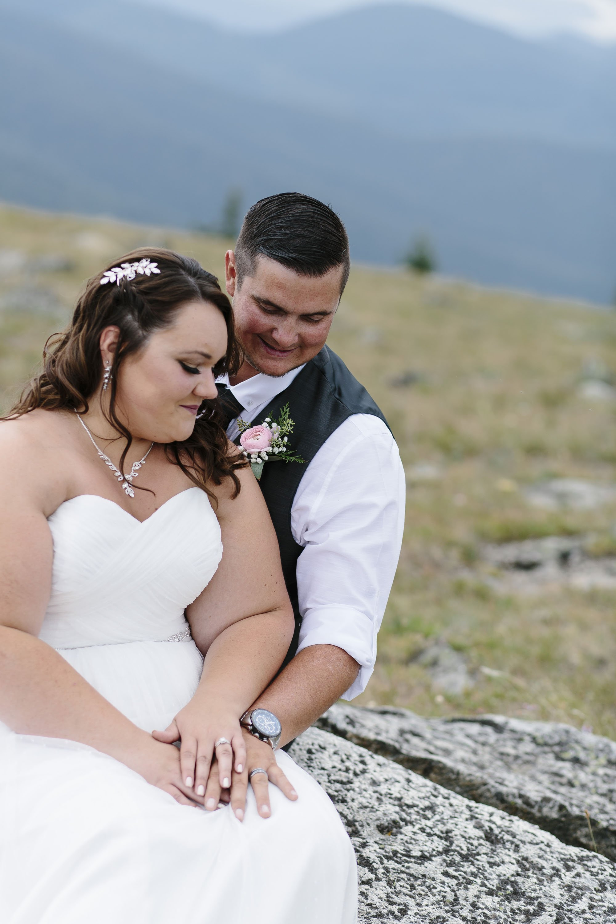 Mt Spokane Elopement Wedding Vista House // Emily Wenzel Photography