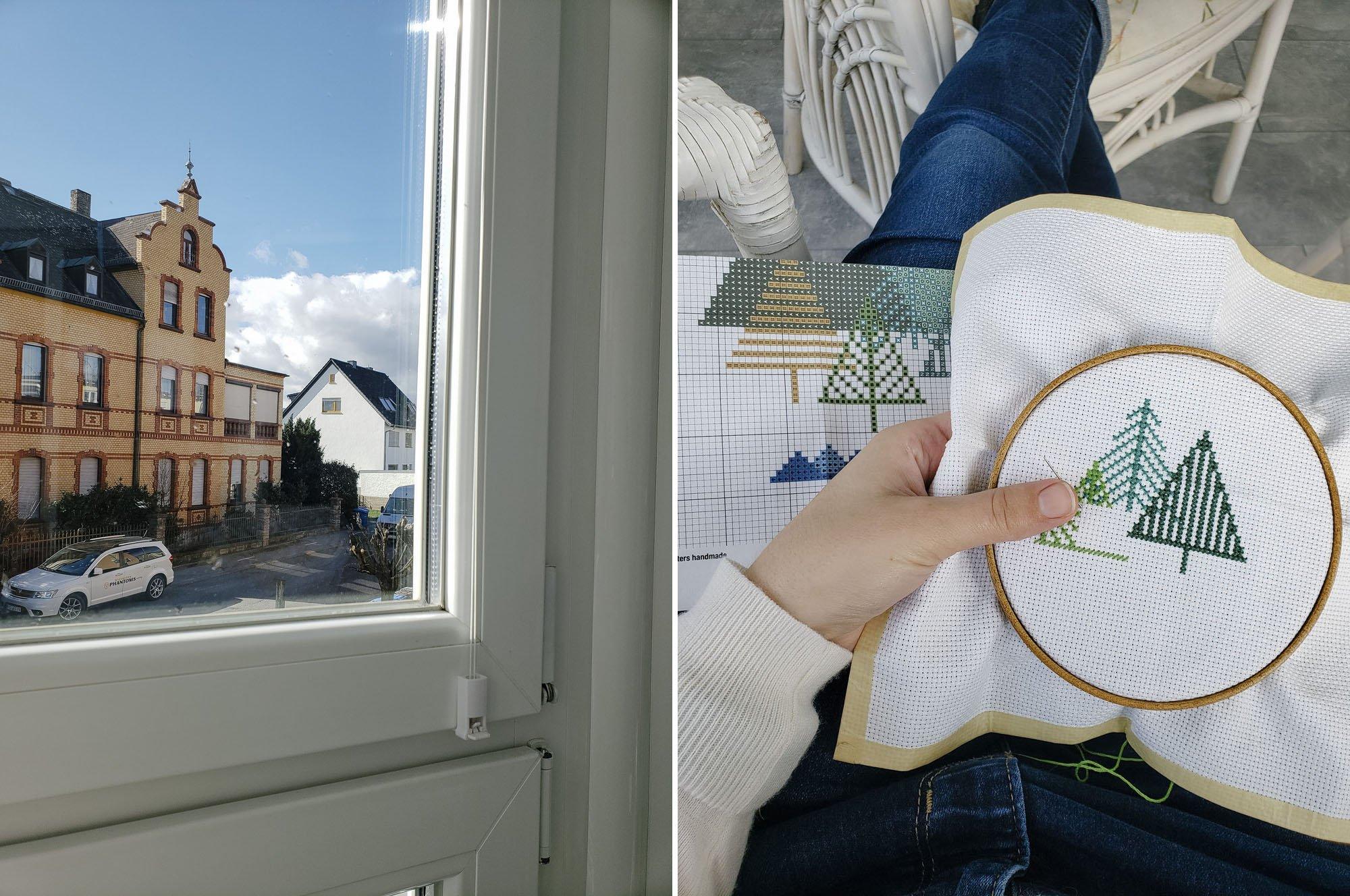 Eltville am Rhein // Modern Cross Stitch