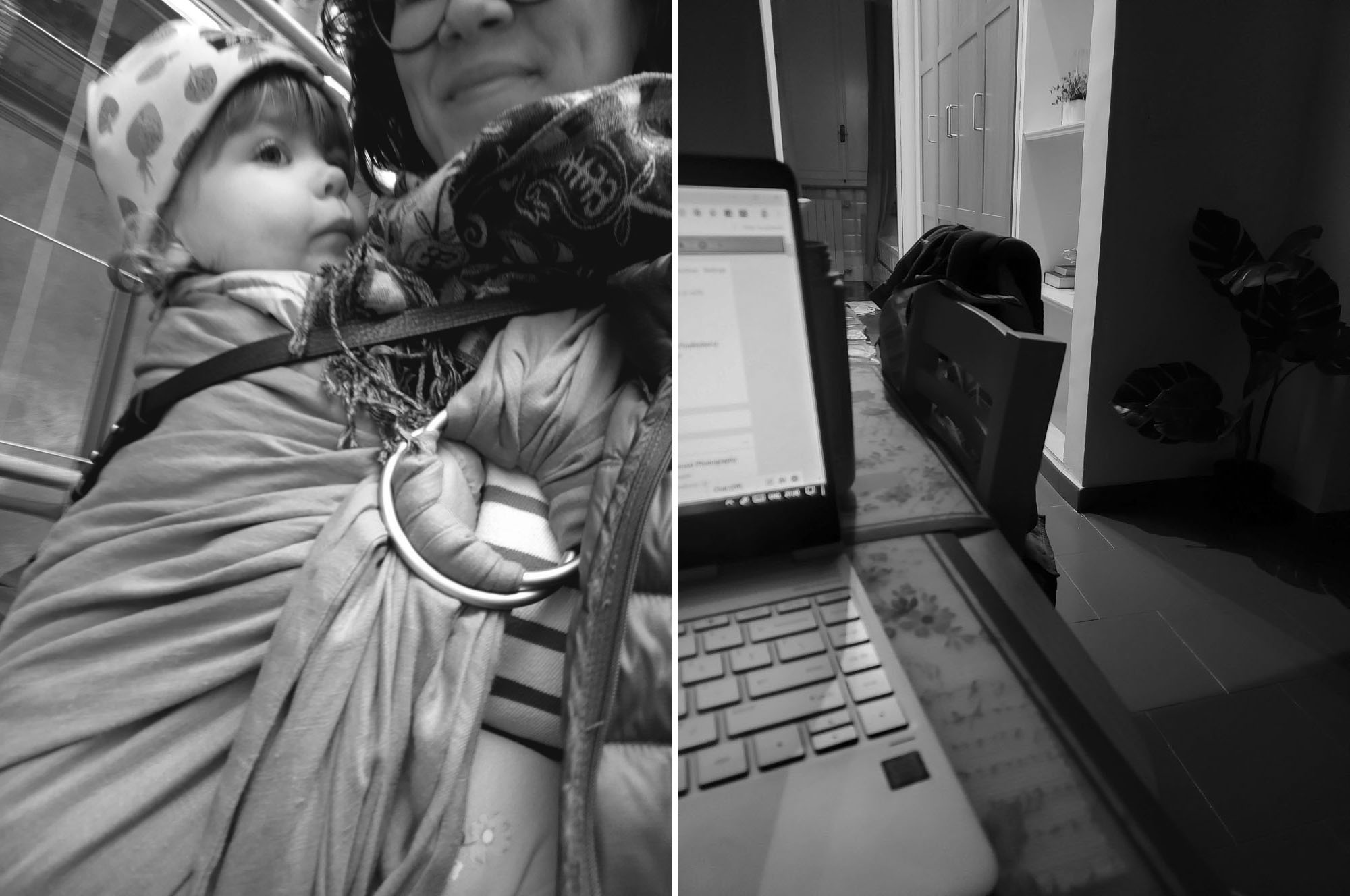 Wildbird Ring Sling Rome // Working Remotely