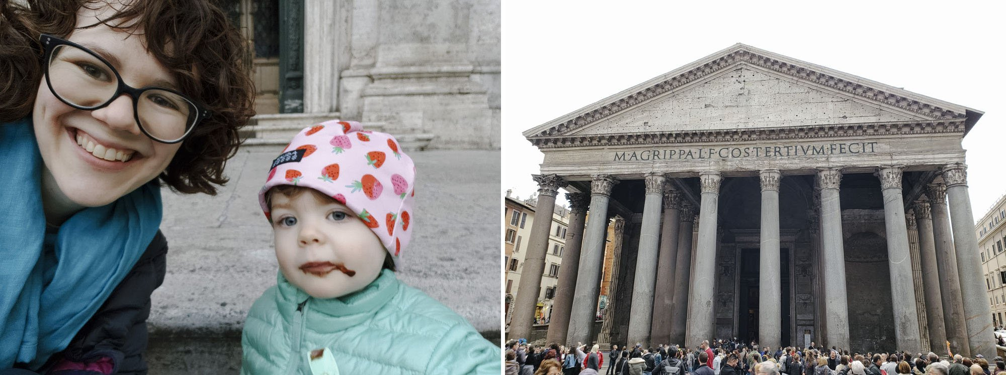 Best Gelato in Rome // Traveling with a Kid