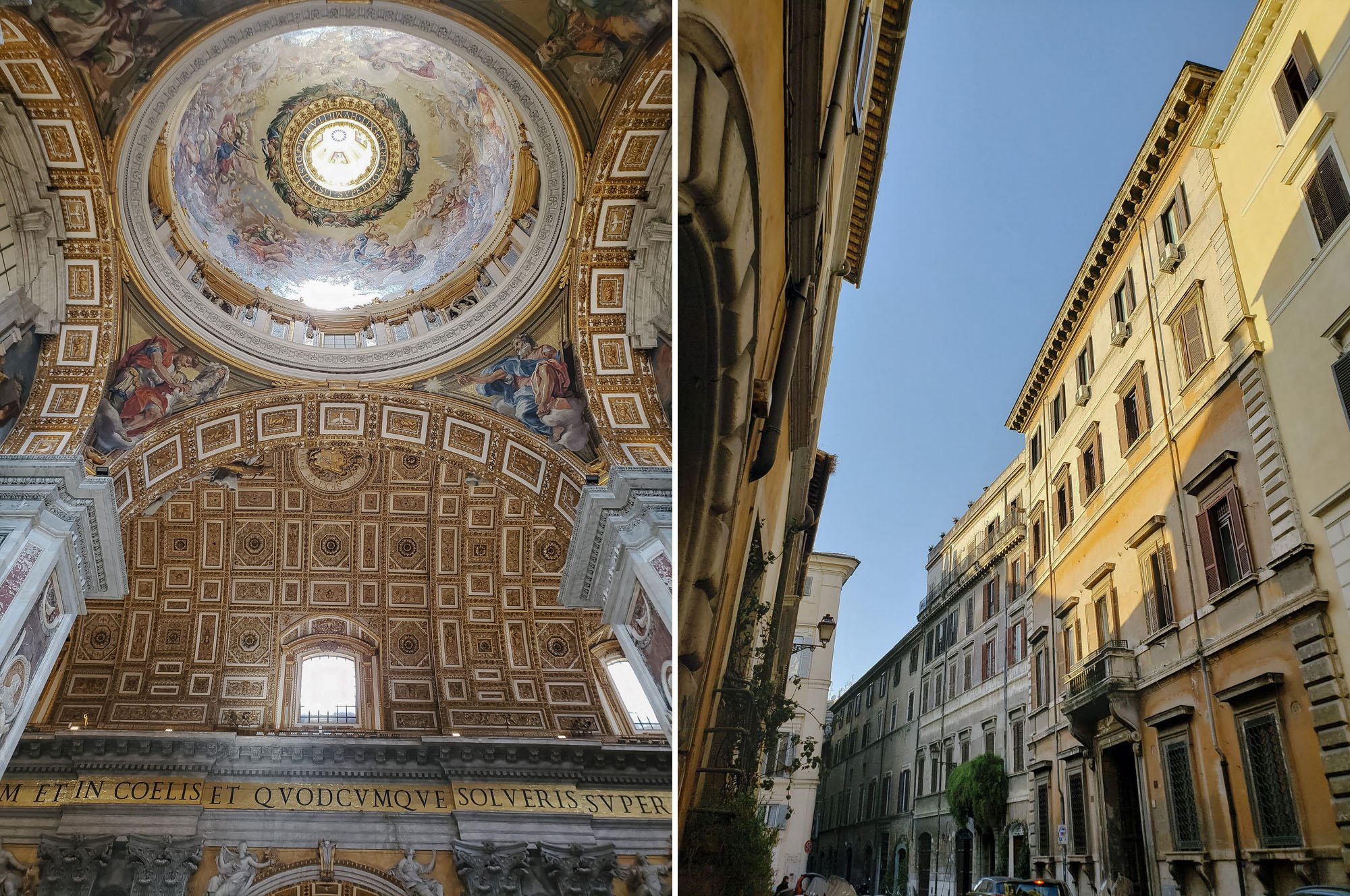 Visiting the Vatican // Back Streets of Rome