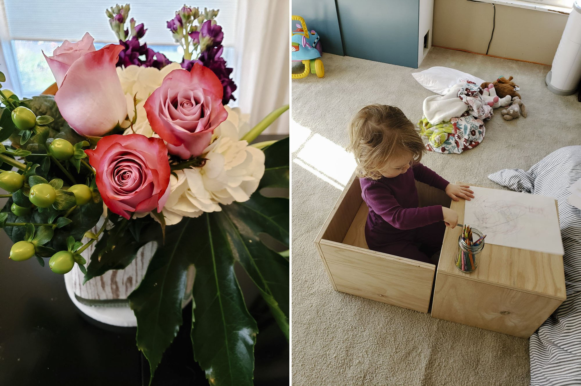 Rose & Blossom bouquet // modular children's furniture