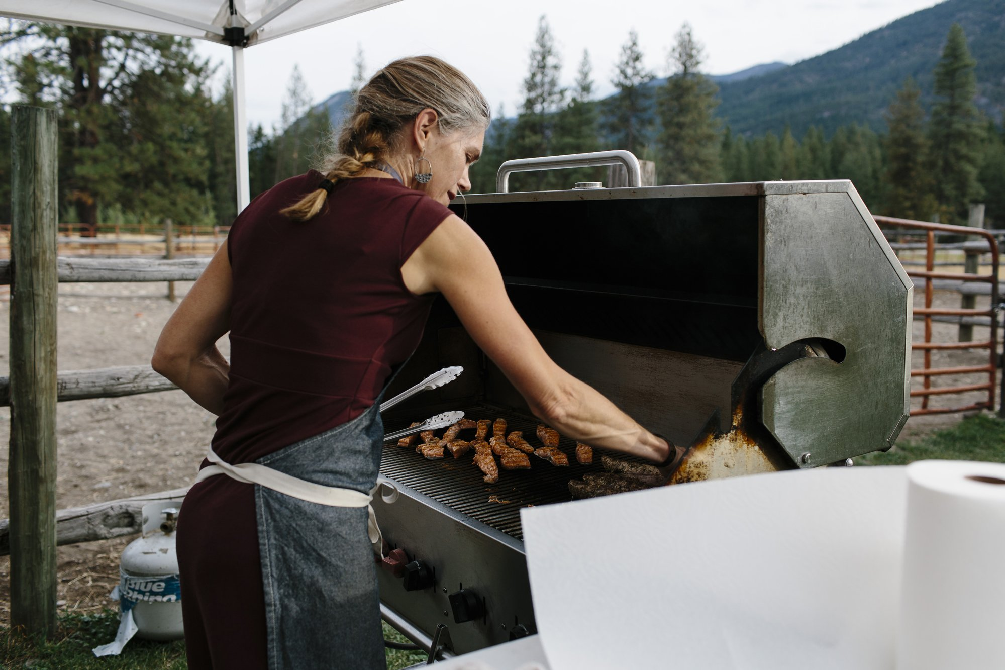 Stew Dietz Catering in the Methow Valley Washington
