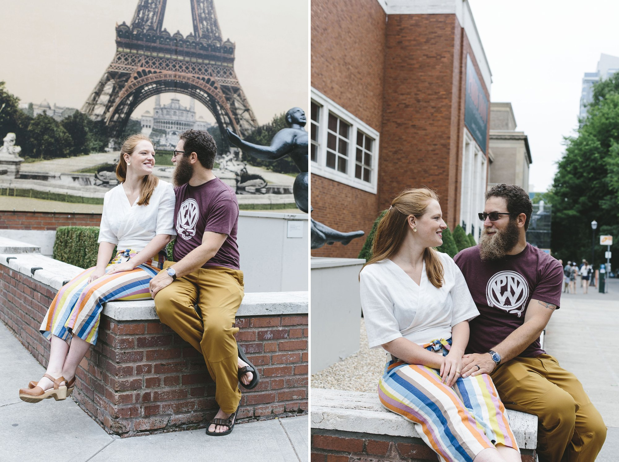 Downtown Portland Engagement Session // Emily Wenzel Photography
