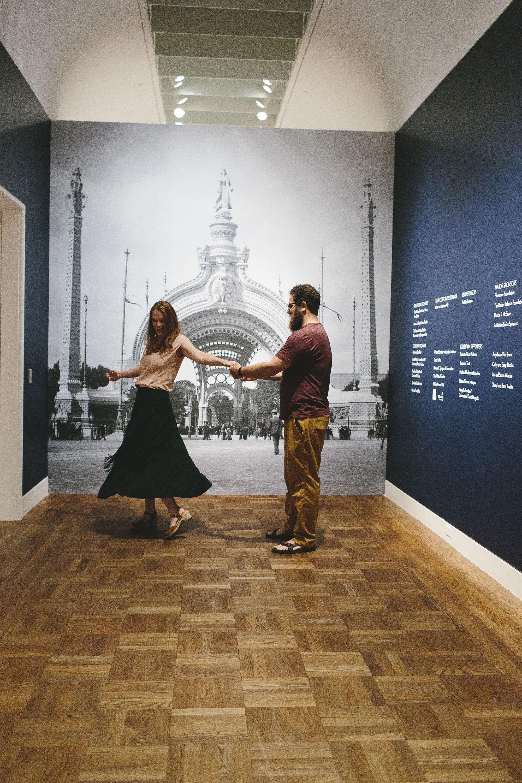 Portland Art Museum Engagement Session // Emily Wenzel Photography