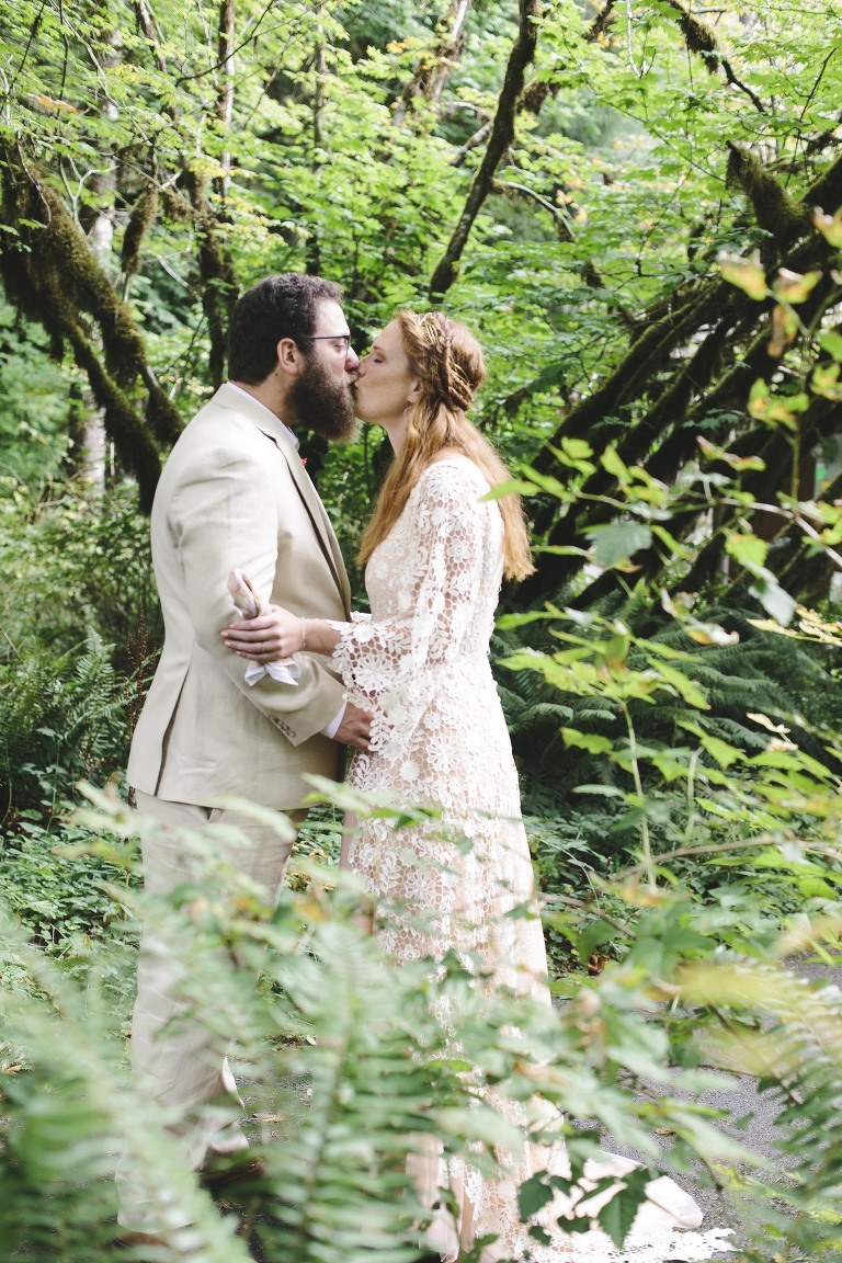 Silver Falls State Park Wedding // Emily Wenzel Photography