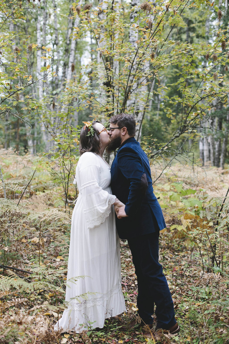 Elopement in the woods // Emily Wenzel Photography