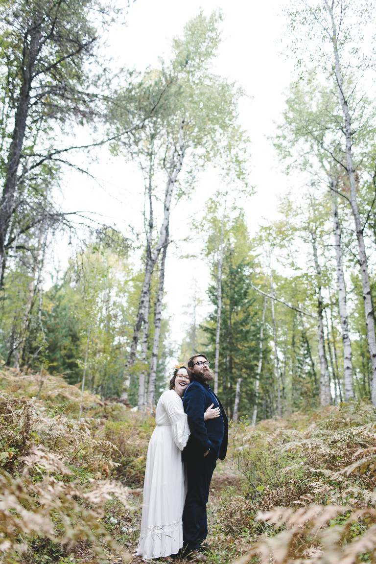 Bohemian woodland elopement // Emily Wenzel Photography