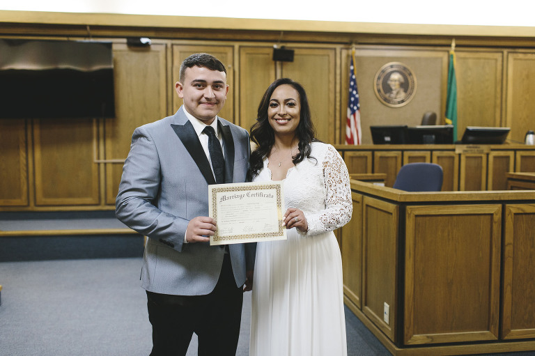 Spokane Courthouse Elopement // Emily Wenzel Photography