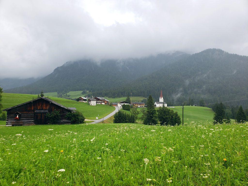 village of Steinberg am Rofan