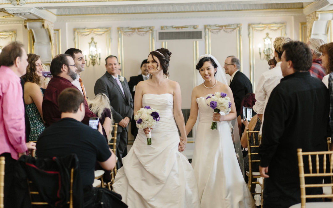 Vanessa & Brittney — Davenport Hotel Wedding // Spokane Wedding Photography